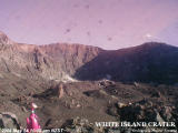 The White Island Volcano Crater Webcam from 10.00am on 24 May, 2004, on hydro.electric.gen.nz, not GeoNet.